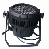 Professtional 54PCS 3W RGBW LED 방수 동위 빛