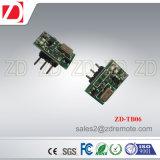 Module d'émetteur sans fil de petite taille de Zd-Tb06 315/433MHz pour la longue gamme fonctionnante