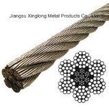 Câble métallique d'acier inoxydable (8X25+IWRC)