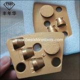 PCD-1 disco abrasivo del raspador del trapezoide PCD para el pulido concreto