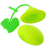 Hot Sale Eco-Friendly Food Grade Lovely Gourd Silicone Tea Infuser