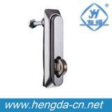 Замка шкафа замка плоскости ручки качания Yh9611 Padlockable замок электронного промышленный