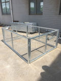 su Hot Sale Galvanized Utility Box Trailer