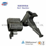 E Type Fastening System를 위한 최신 Forging Railway Shoulder