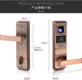 Metallo che fabbrica la serratura generale della scheda di parola d'accesso CI dell'impronta digitale di figura con il chip incluso gli S.U.A.