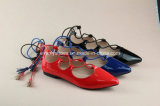 Lace-up ботинки способа женщин для сексуальной девушки
