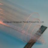 Tubo di plastica trasparente per impaccare