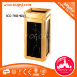 New Design Stainless Steel Outdoor Trash Can Garden Dustbin