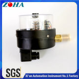 Tipo econômico Magnetic Manómetros de contato elétrico Steel Case Brass Connector