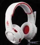 7.1 Auscultadores de venda quente da fábrica dos auriculares do USB do auscultadores do computador do jogo da bordadura
