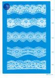 Encaje elástico para la ropa / ropa / zapatos / bolsa / caja de 2827 (anchura: 1 cm a 11 cm)