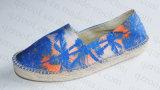 2016 späteste Gewebe-Segeltuch-Frauen-beiläufige Schuhe (RF16259)