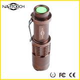 CREE XP-E 5W 240lm erforschen nachladbare Fackel des Aluminium-LED (NK-628)