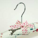 Проложенная сатинировка ягнится оптовая продажа вешалки одежд (YL-yf13)
