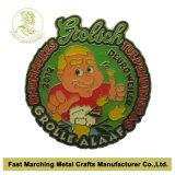 Fábrica de la divisa del Pin de metal, Pin de la solapa con buena calidad