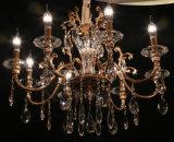 Moderne Kristalldekorative hängende Innenbeleuchtung, Leuchter