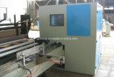 Cadena de producción automática completa de máquina del papel higiénico el rebobinar que raja