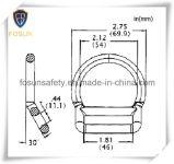 안전 장치 부속품 금속 D-환형물 (H214-1D)