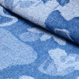 Prodotto intessuto del denim del jacquard dello Spandex del cotone per i jeans