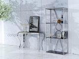 Het moderne Hoogste Meubilair/de Koffietafel van de Lijst van de Console van het Glas