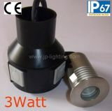 Edelstahl 3W LED Underground Inground Light (JP82012)