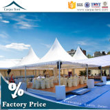 Wedding Party 5m x 5mのための50人Expandable Cheap High Peak Pagoda Tents