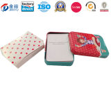 Viereck Shaped Ein Plattform Poker Package Tin Box für Children Jy-Wd-2015120701