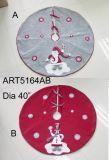 """48 """" Diaの雪片の木のまわりを回クリスマスの装飾"""