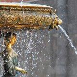Het Standbeeld van het Messing van de Godin van de Seizoenen van het Beeldhouwwerk van de Tuin van het Brons van de fontein, Milo tpls-041