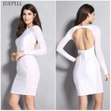 Backless Sexy Woman Daily Wear Dress für Summer