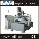 Hoge druk 3 CNC van de As Houten Scherpe Machine