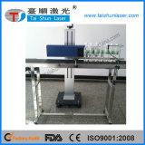 machine en plastique d'inscription de laser de CO2 de 10W 30W 50W pour le code de bouteille de PE de pp