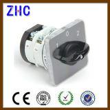 Lw31-50 1-0-2 interruptor de cambio automático de la corriente eléctrica de 2 Pin