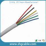 Cable de teléfono redondo de 4 bases