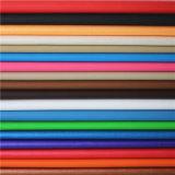 Elevado desempenho por atacado couro decorativo sintético gravado do PVC