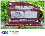 [أمريكن] أسلوب هند أحمر قبر جنازة نصب قائم لأنّ مقبرة