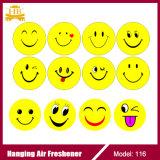 Подгонянный Freshener воздуха Emoji выдвиженческого подарка бумажный