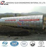 Tubo de acero acanalado galvanizado de la alcantarilla del diámetro grande