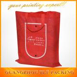Красные изготовленный на заказ хозяйственные сумки (BLF-NW163)
