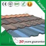 Material revestido durable del azulejo de la hoja de la azotea de la larga vida/de la azotea de la piedra con diversos colores