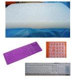 Le caoutchouc de silicones solide Htv utilisé pour faire Clé-Appuient, des joints