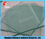 ISOの証明書が付いている2-19mmのゆとりのフロートガラスまたはフロートガラス明確な
