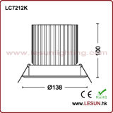 Usine Price 36W Recessed DEL Down Light pour Fashion Shop LC7212k