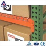 Racking registrabile resistente del magazzino con la piattaforma del collegare
