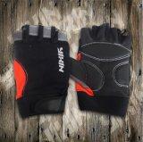 乗馬の手袋半分指手袋PUの手袋スポーツの手袋安全手袋