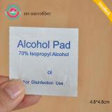 Het medische Prep Stootkussen van de Alcohol, de Zwabber van de Alcohol