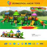 Cour de jeu extérieure de la plus nouvelle qualité de conception réglée pour les enfants (A-15089)