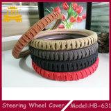 Очень популярная мягкая хорошая материальная крышка рулевого колеса автомобиля Lambskin