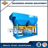 Separador aluvial da máquina do gabarito do concentrador do ouro do Placer