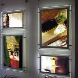 Trame ultra mince d'aluminium d'affichage d'image de cadre d'éclairage LED